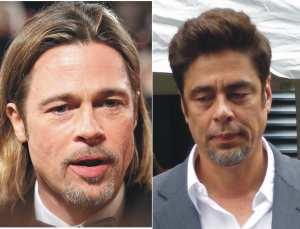Brad Pitt Benicio Del Toro